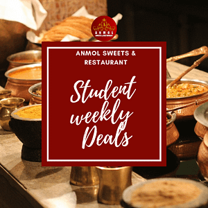 Student Deals in Stockholm by Anmol sweets